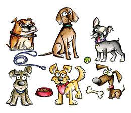 661593 Sizzix Die Tim Holtz Crazy Dogs-0