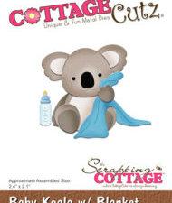 CC-290 Cottage Cutz Die Baby Koala w/Blanket-0