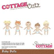 CC-288 Cottage Cutz Die Baby Dolls-0