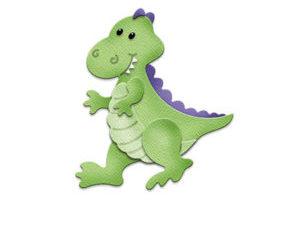 CC-284 Cottage Cutz Die Baby Dino T-Rex-0