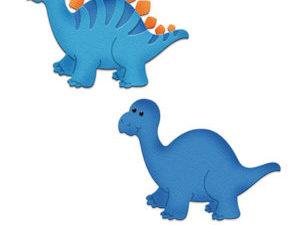 CC-283 Cottage Cutz Die Baby Dino Stegosaurus-0