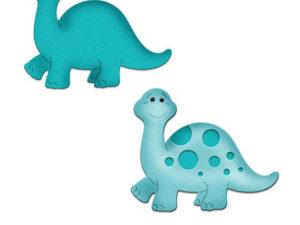 CC-282 Cottage Cutz Die Baby Dino Brontosaurus-0