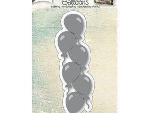 6002/0668 JOY Die Cut/emb/deb Balloons -0