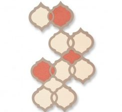 661725 Sizzix Die Thinlits marokkansk mønster-0