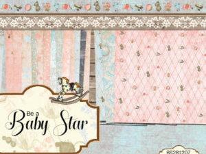BS281207 Riddersholm Design Papirblok Be A Baby Star -0
