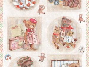 EWK1249 Marianne Design 1 ark Teddy Bears-0