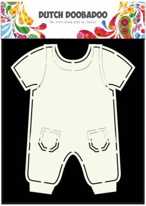 470.713.628 Dutch Doobadoo Card Art stencil Dungarees-0