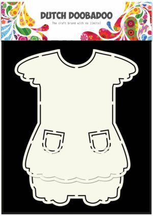 470.713.629 Dutch Doobadoo Card Art stencil Dress-0