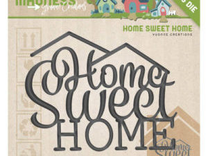 YCD10098 Yvonne Creations Die Moving Madness Home Sweet Home-0