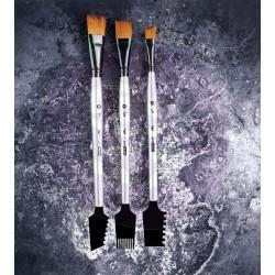 963873 Finnabair Art Basics Double-Sided Texture Brushes Set 1 -0