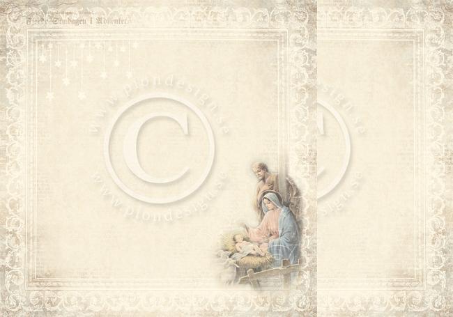 PD2801 Pion Design Silent night Nativity Scene-0
