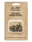 TH93268 Tim Holtz Idea-ology Hex Fasteners-0