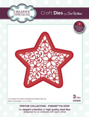 CETREATSTAR Creative Expressions Sue Wilson Finishing Touches Treat Cups Star-4721