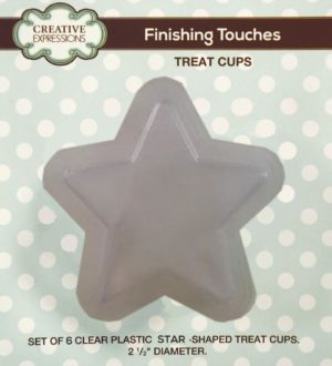 CETREATSTAR Creative Expressions Sue Wilson Finishing Touches Treat Cups Star-0