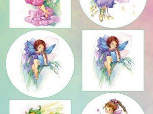 VK9559 Marianne Design 3D 1 ark Fairies-0