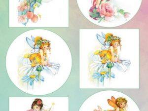 VK9560 Marianne Design 3D 1 ark Fairies-0