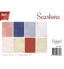 6011/0517 JOY Papirsblok A4 Seashore-0