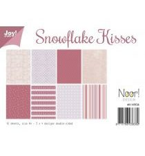 6011/0526 JOY Papirsblok A4 Snowflake Kisses-0