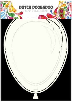 470.713.631 Dutch Doobadoo Card Art Stencil A5 Ballons (2x)-0