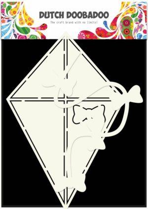 470.713.632 Dutch Doobadoo Card Art Stencil A5 Kite-0