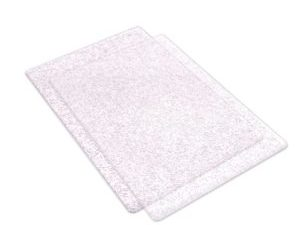 662141 Sizzix Cutting Pads Clear With Silver Glitter A5-0