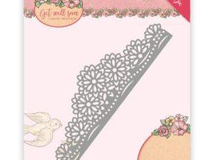 YCD10102 Yvonne Creations Die Get Well Soon Flowers Border-0