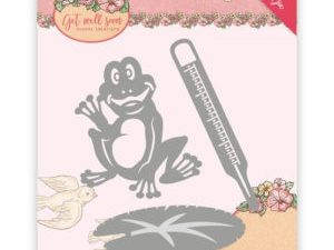 YCD10103 Yvonne Creations Die Get Well Soon Get Well Frog-0