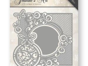 JAD10007 Jeanine`s Art Die Christmas Classics Ornament Frame-0