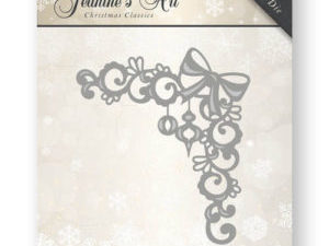 JAD10009 Jeanine`s Art Die Christmas Classics Ornament Corner-0