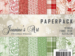 JAPP10001 Jeanine`s Art Papirsblok Christmas Classics-0