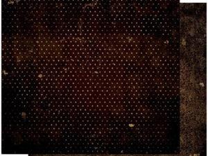 12CFV852 BOBUNNY Scrapbooking ark 30 ×30 cm, Coffee Vintage-0