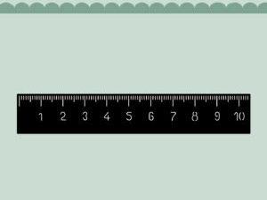 MD0101 Dixi Craft Die Ruler-0
