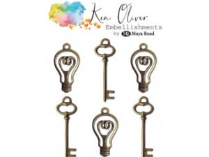 VF3311 Maya Road Ken Oliver Vintage Charms Bulbs and Keys-0