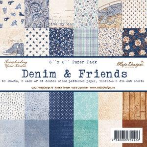 709286 Maja Design Papirsblok Denim & Friends-0