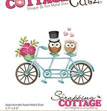CC-325 Cottage Cutz Die Tandem Bike-0