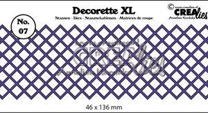 CLDRXL07 CreaLies Die Decorette XL 7 -0