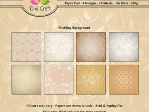 PP0084 Dixi Craft Papirspakning Wedding Background-0