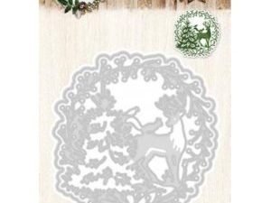 STENCILWW37 StudioLight Die Woodland Winter Doily-0