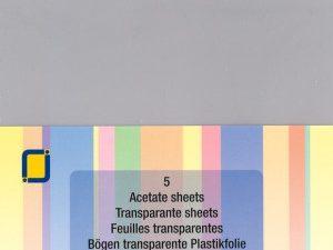 3.1000 Plastfolie Klar A4 1 Ark-0