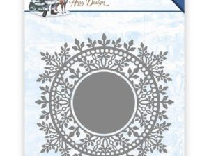 ADD10110 Amy Design Die The Feeling of Christmas Ice Crystal Circle-0