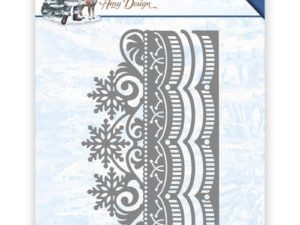 ADD10111 Amy Design Die The Feeling of Christmas Ice Crystal Border-0