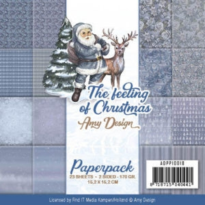 ADPP10018 Amy Design Papirsblok The Feeling Of Christmas-0