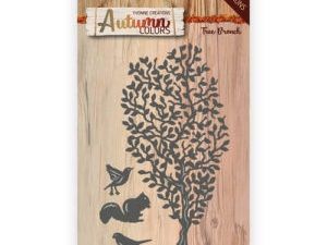 YCD10107 Yvonne Creations Die Autumn Colors Tree Branch-0