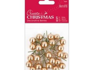 PMA 356912 Docraft Papermania Decorative Berries Guld-0
