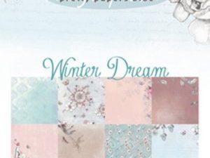 PK9150 Marianne Design Papirsblok A5 Winter Dream-0
