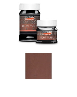 4204 Pentart Iron Paste Reddish Brown-0