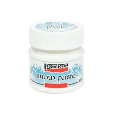 989 Pentart Snow Paste 50ml -0