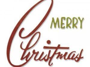 662420 Sizzix Die Tim Holtz Thinlits Retro Merry Christmas-0