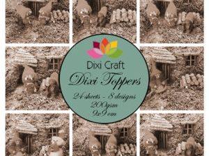 ET0308 Dixi Craft Toppers Nisselandskab-0