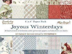 709491 Maja Design Papirsblok Joyous Winterdays-0